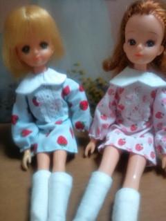 3代目:リナ苺長袖