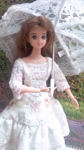 ジェニーと日傘
