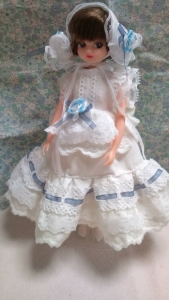 白ドレス全身