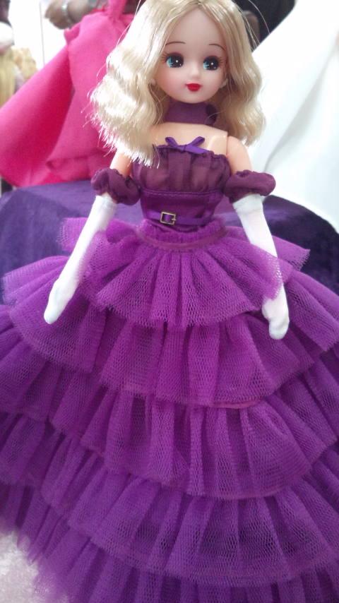 名古屋LC 紫ドレス