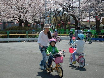 ゆーひ自転車の特訓
