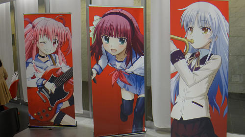 「Angel Beats! 5周年記念 イラスト&原画展」@東京アニメセンターに行ってきました