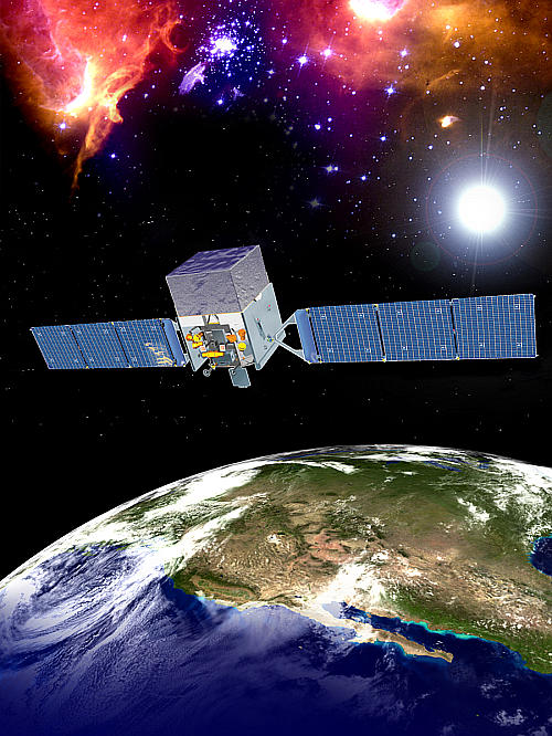 NASAのガンマ線天文衛星「フェルミ」