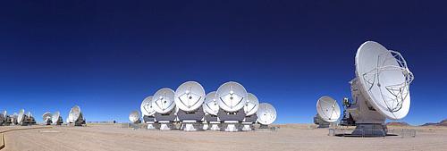 アルマ望遠鏡の視力は1500