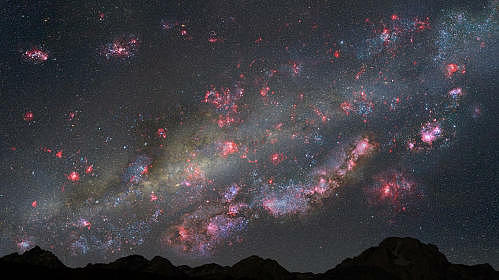 100億年前の夜空