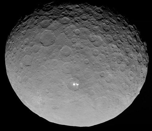 準惑星ケレスの「例の点」