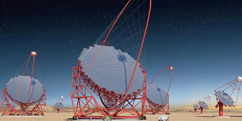 CTA北半球望遠鏡アレイ建設