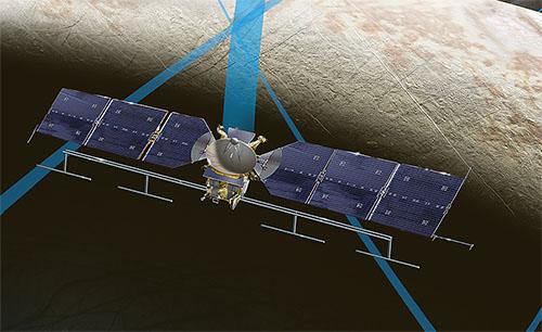 エウロパミッションの探査機がカッコよすぎる