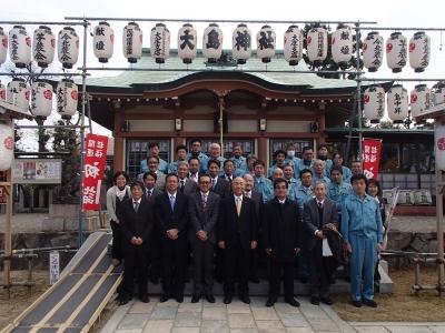大島神社参拝