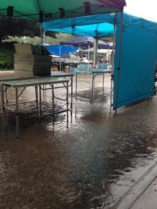 2015.8.28雨の東別院手づくり朝市②