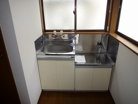 こせき荘201号室 キッチン
