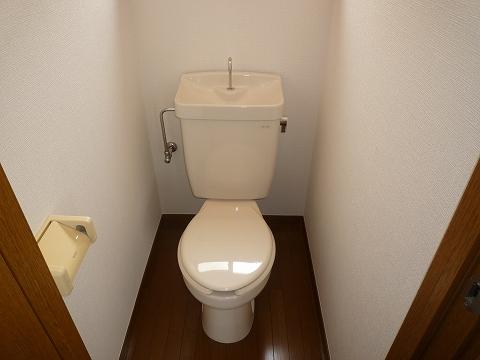 こせき荘201号室 トイレ