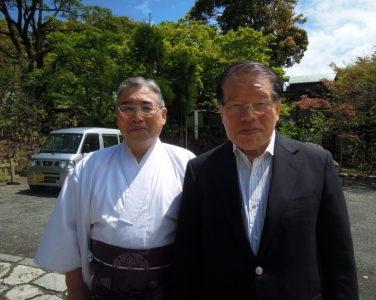 中村初男よ鎌倉宮