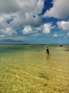 西表島の海