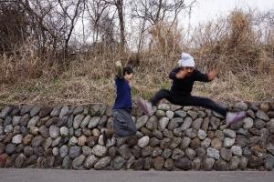 空稲宿ジャンプ
