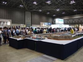 第16回国際鉄道模型コンベンション会場です。