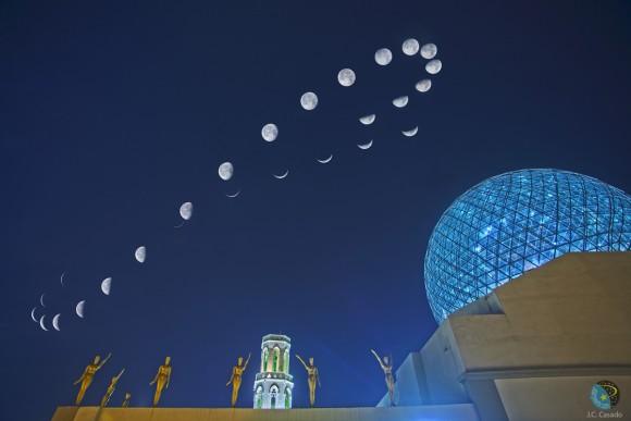 月のアナレンマ