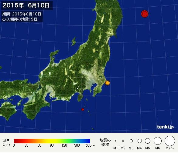 2015年6月10日地震