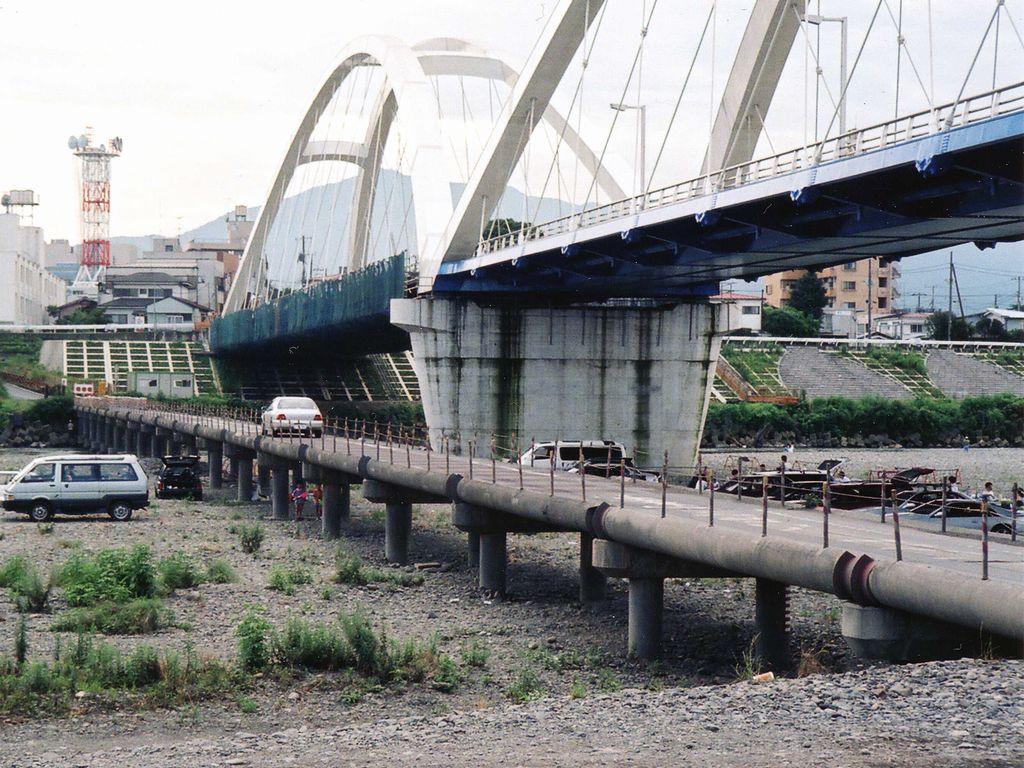 沈下橋 もぐり橋