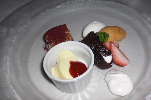 リストランテジャルディーノ蒲生 デザート