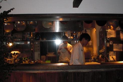 リストランテジャルディーノ蒲生 厨房