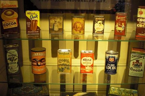 チョコレート展 ココア缶