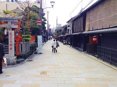 祇園の花街