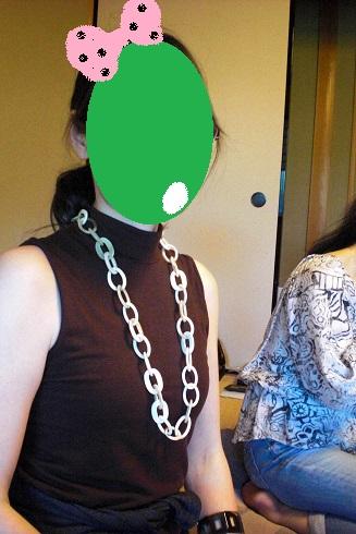 てしーちゃんネックレス1