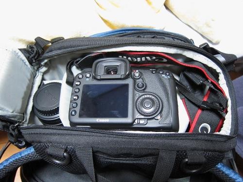 EOS7D in ロープロ インバース200AW