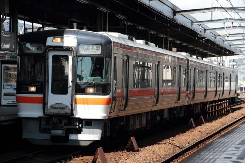 キハ75形3両編成 in 岐阜駅