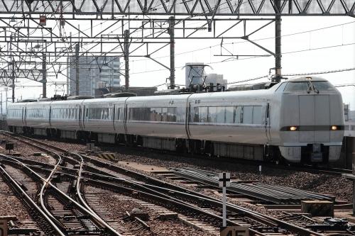 681系しらさぎ in 岐阜駅
