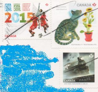 切手  カナダ