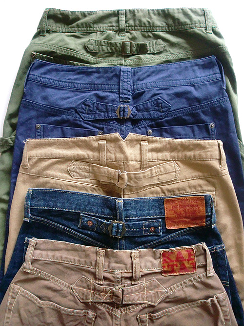 buckle pants