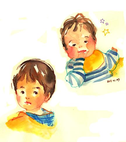 2歳差 兄弟