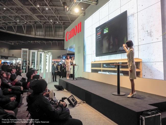 CP+2015 キヤノンのイベント