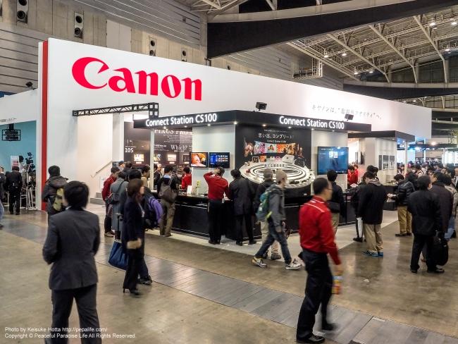 CP+2015 キヤノン ブース