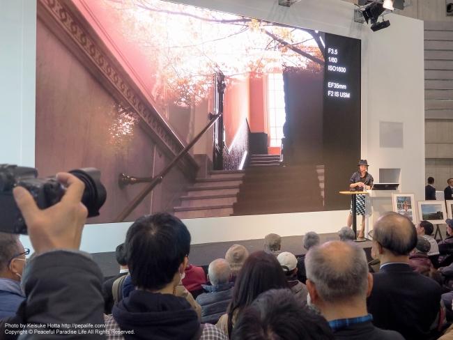 CP+2015 キヤノン EOS M3に関する講演