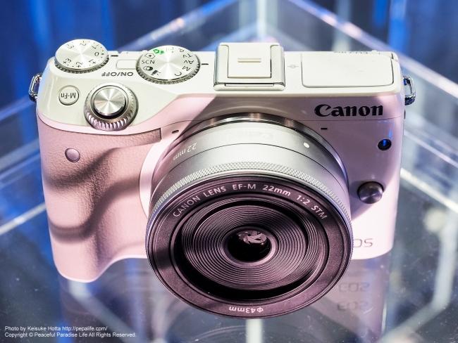 CP+2015 キヤノン EOS M3