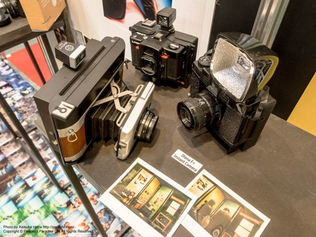 CP+2015 ロモグラフィー Belair Instant Camera、LOMO LC-Wide+INSTANT BACK、Diana F+ Instant Camera