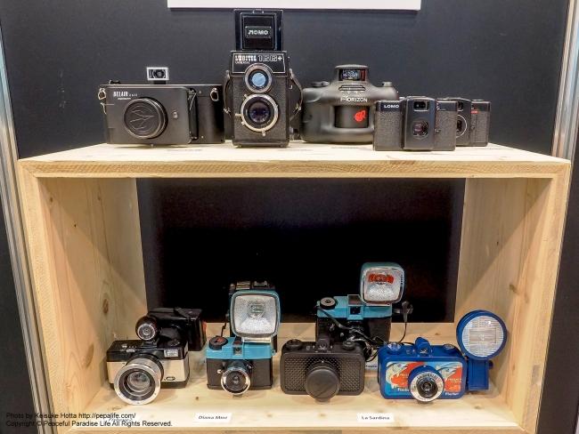 CP+2015 ロモグラフィー トイカメラ各種