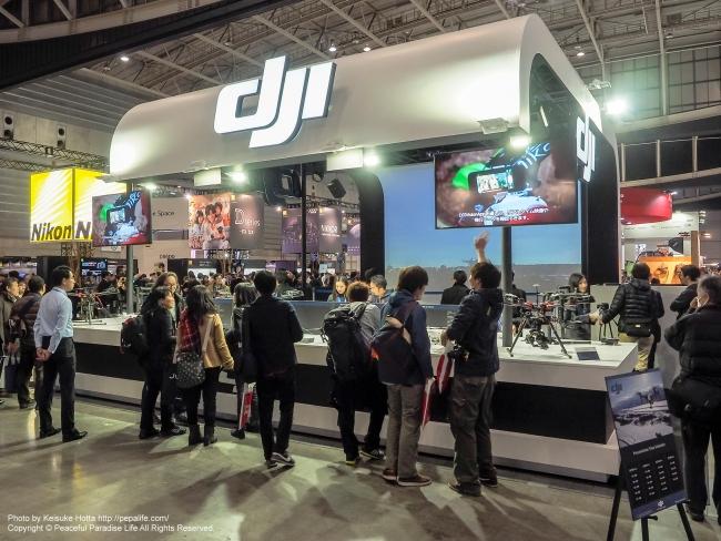 CP+2015 DJI ブース