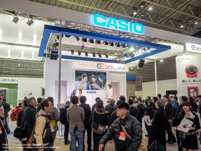 CP+2015 カシオ ブース