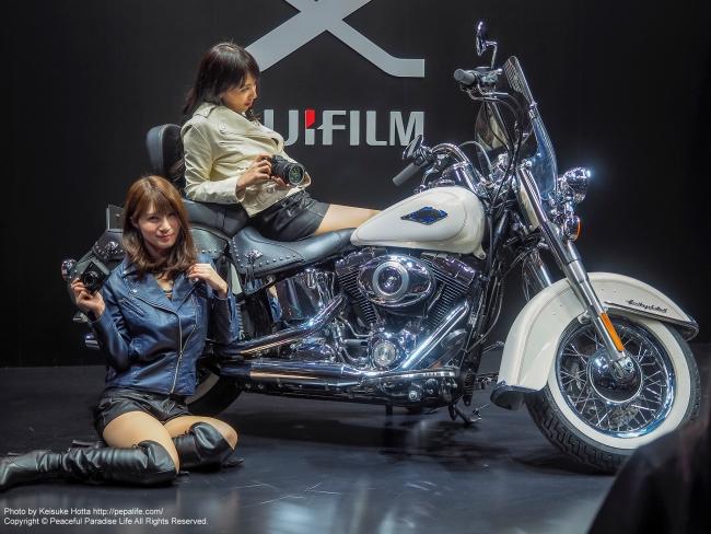 CP+2015 富士フィルム イベントコンパニオンさん