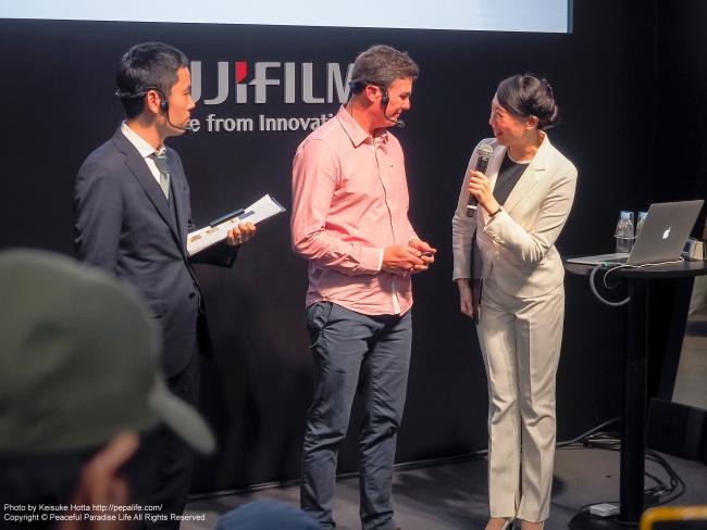 CP+2015 富士フィルム ブースの講演