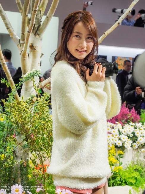 CP+2015 ソニーのイベントコンパニオンさん