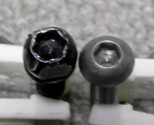 六角穴付きボルト比較