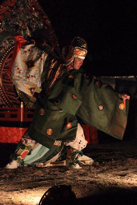 お旅所祭 神事芸能3