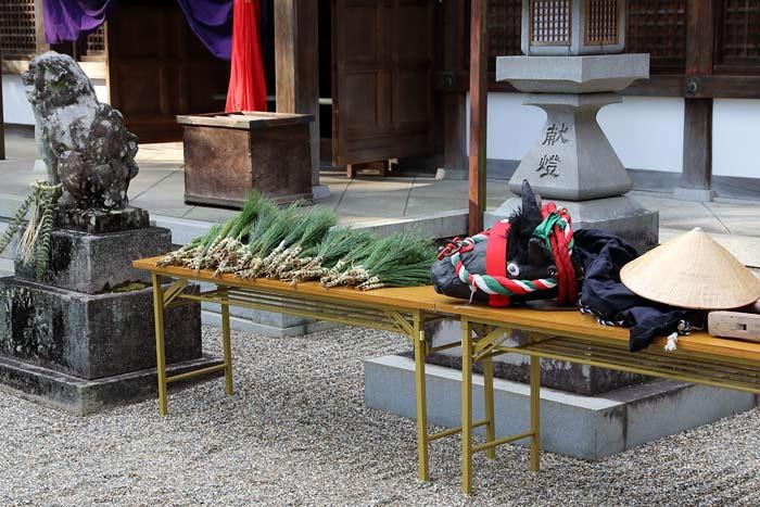秋篠八所御霊神社 おんだ祭1