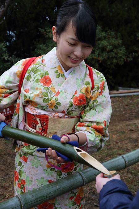 大安寺 笹酒祭り3