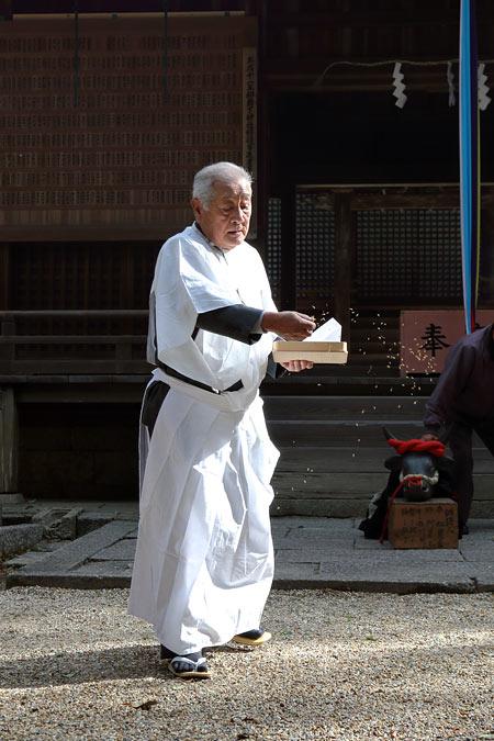和爾下神社 おんだ祭3